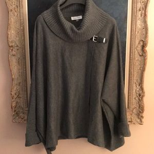 Calvin Klein drape sweater